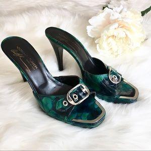 Donald J. Pliner patent leather heels